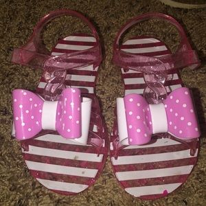 Other - Toddler plastic pink sandals